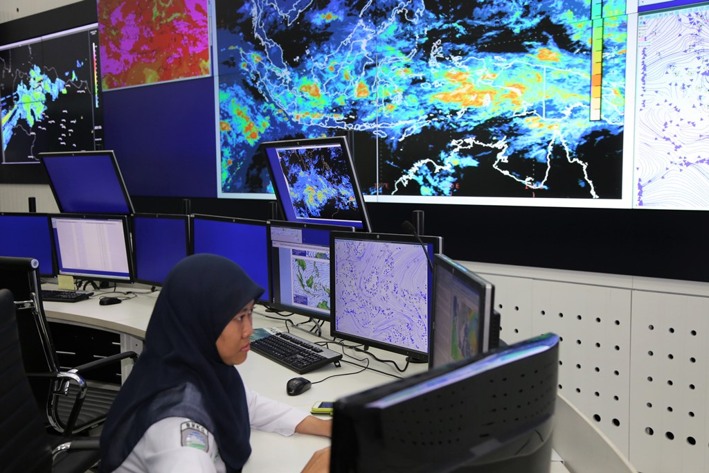 Meteorologist at Indonesia Meteorological and Geophysical Agency, BMKG