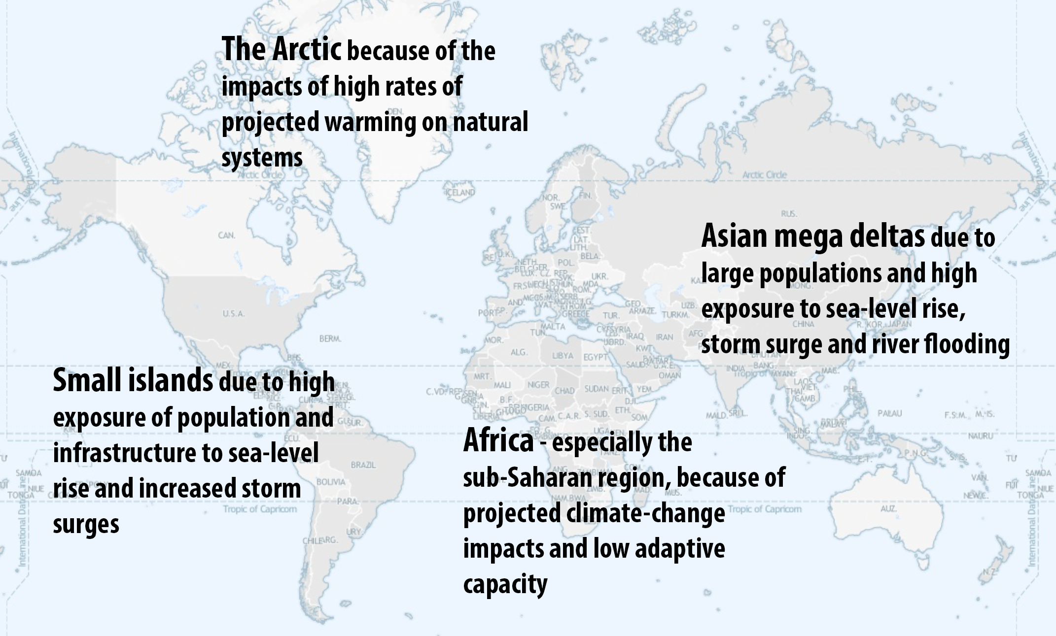 Vulnerability Climate Map
