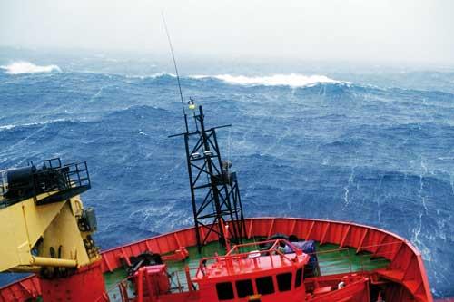 rought sea