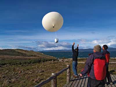 launch ozonesonde