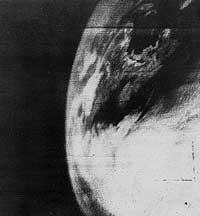 first weather satellite