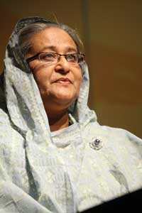 Her Excellency Sheikh Hasina / © WMO