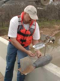 Preparing to measure streamflow