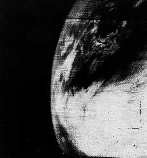 first sat image broadcast