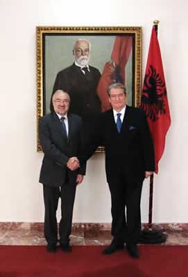 SG and PM of Albania