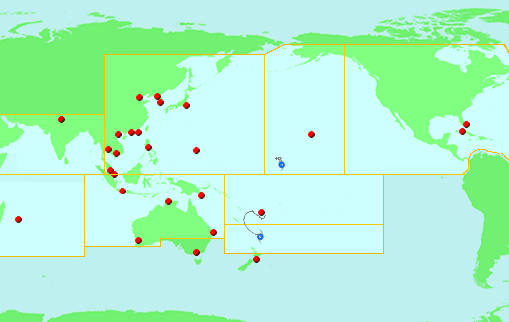 Tropical cyclones and severe weather forecasts