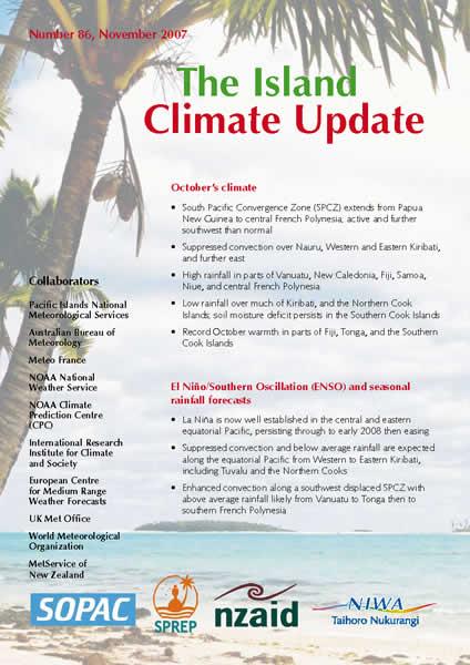 The Island Climate Update / WMO