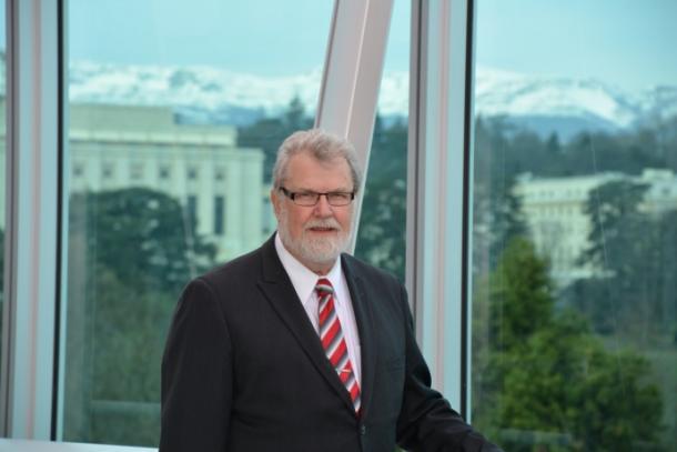 David Grimes/ WMO President