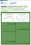 WMO GREENHOUSE GAS BULLETIN