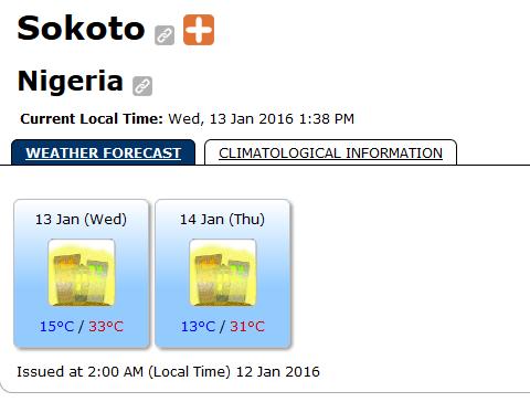 World Weather Information System