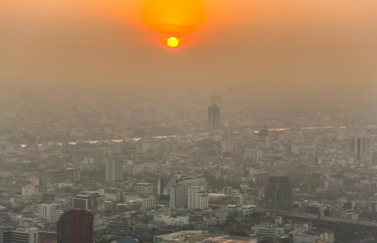 Концентрація вуглекислого газу ватмосфері сягнула рекордного рівня