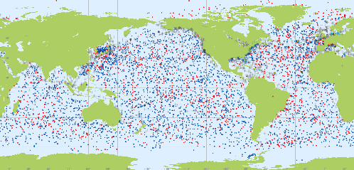 GOS marine observations