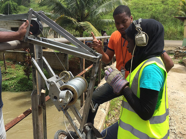 Stream Gauging, Binta Maneh (Gambia).