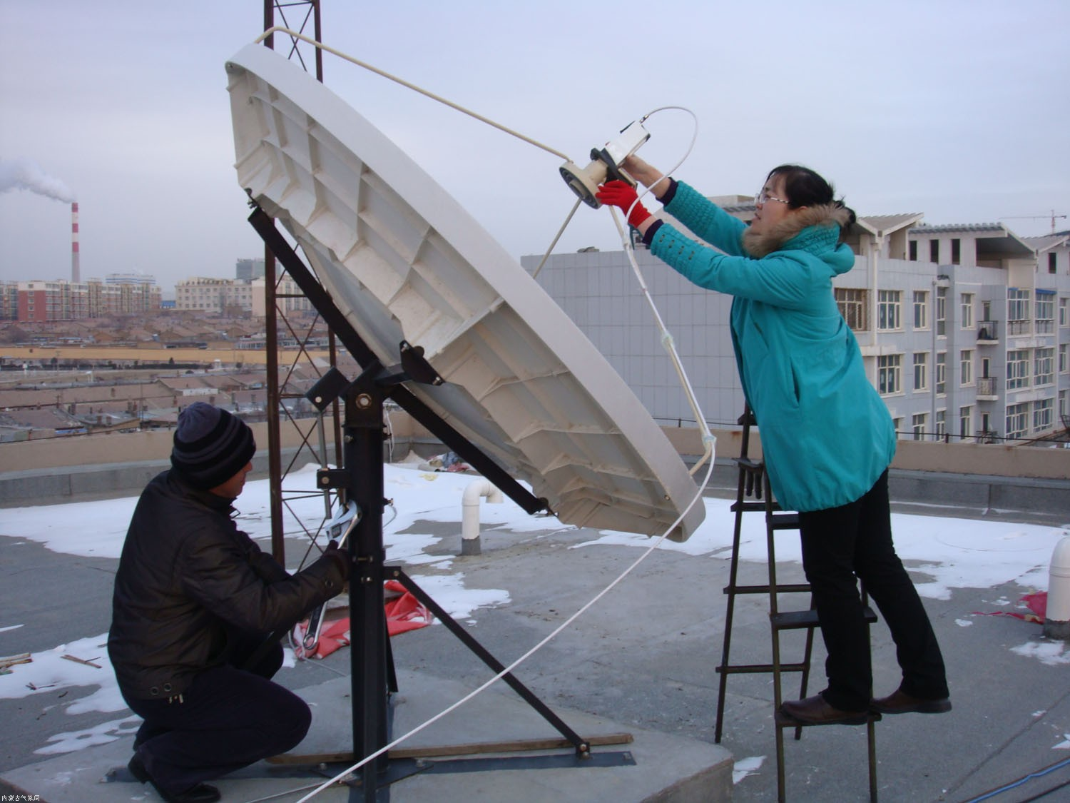 Setting up urban observation networks