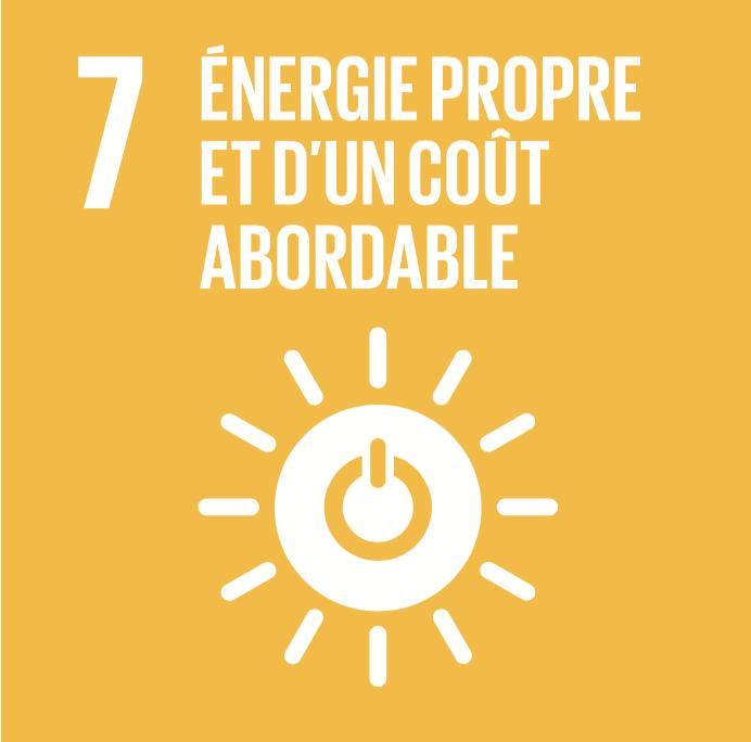 7 objectifs de développement durable