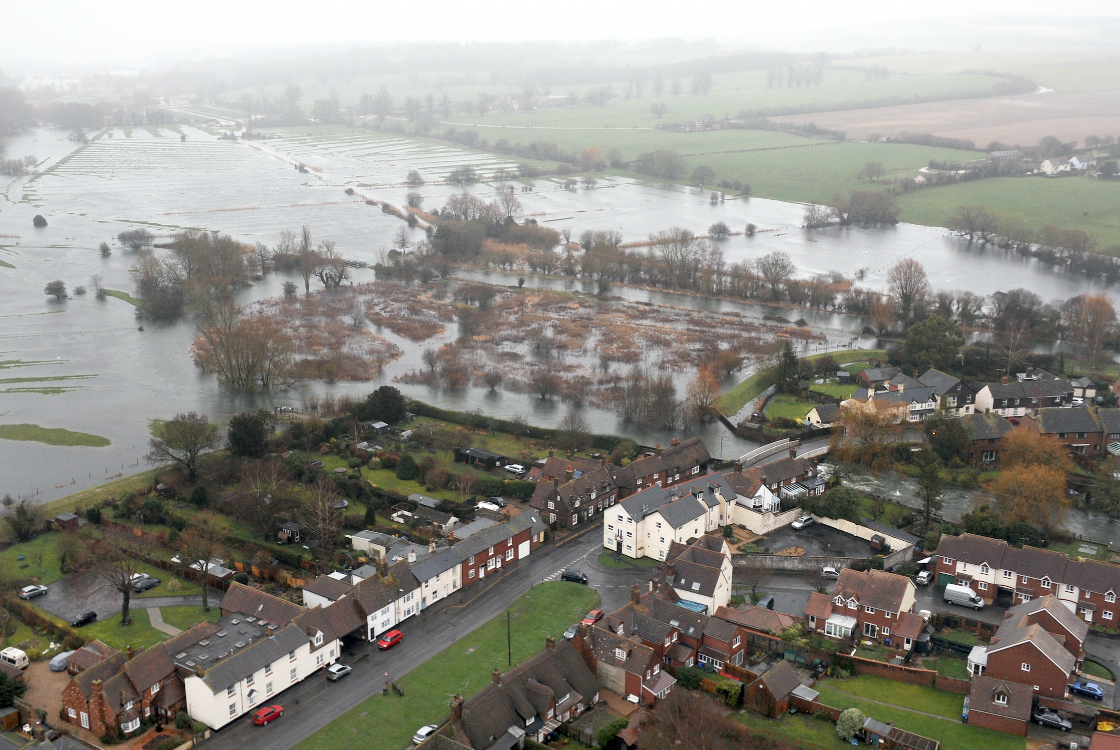 Flooding in Oxfordshire, 2014