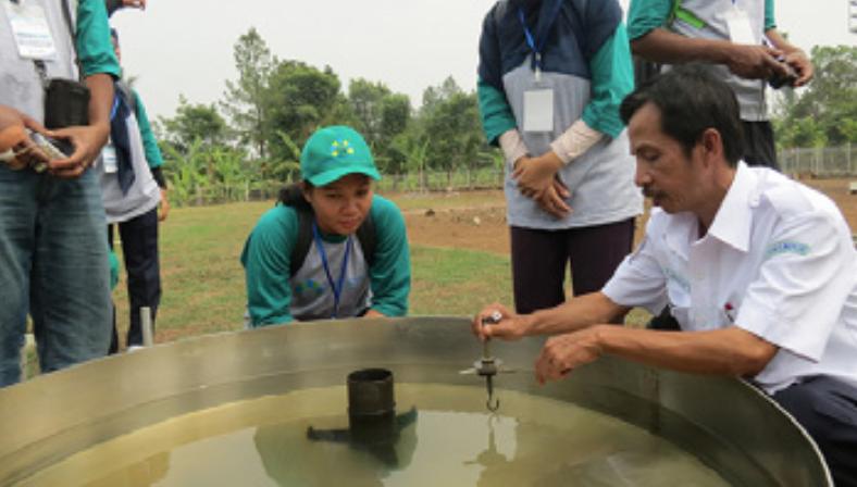 WMO/Climate Field Schools in Indonesia