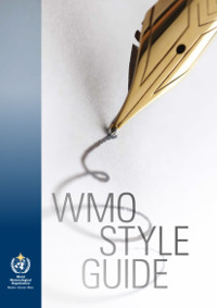 WMO Style Guide