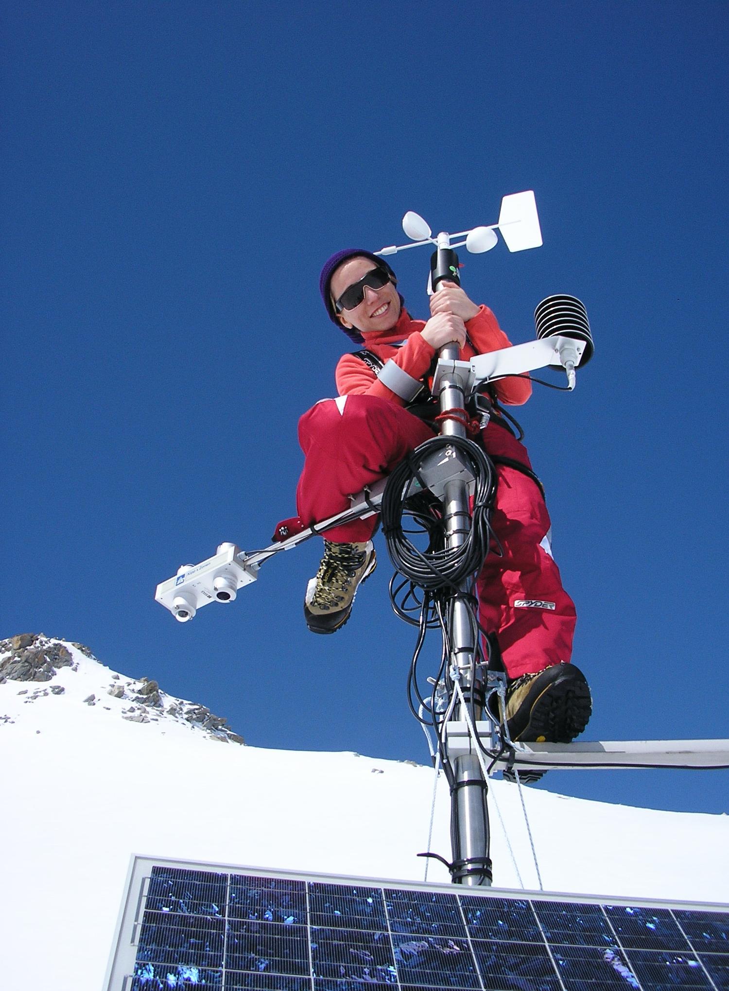 Women in Meteorology_Wind Sensor