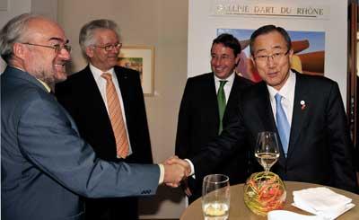 Jarraud & Ban Ki-moon