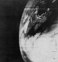 first weather satellite