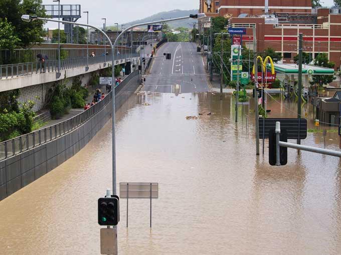 Australian flood 2011