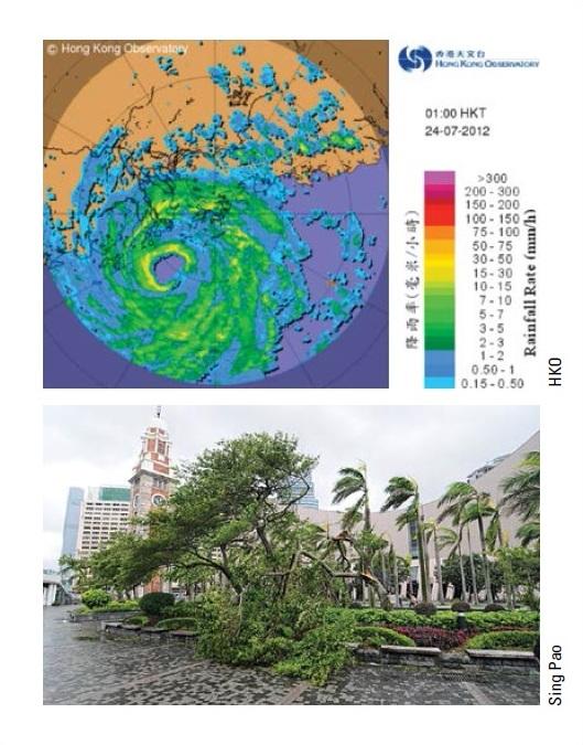 Typhoon Vicente 2012