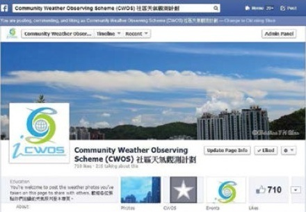 Community Weather Observing Scheme
