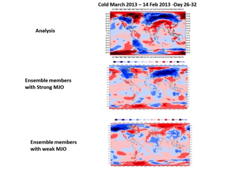 Figure 4: Same as Figure 5 but for the NCEP forecasts.