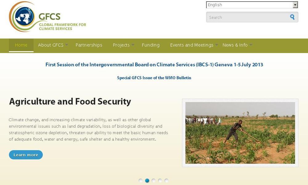 GFCS Website