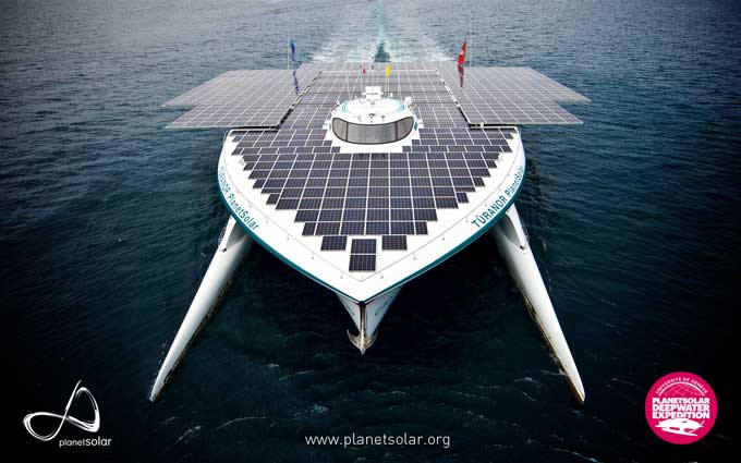 Planet Solar catamaran