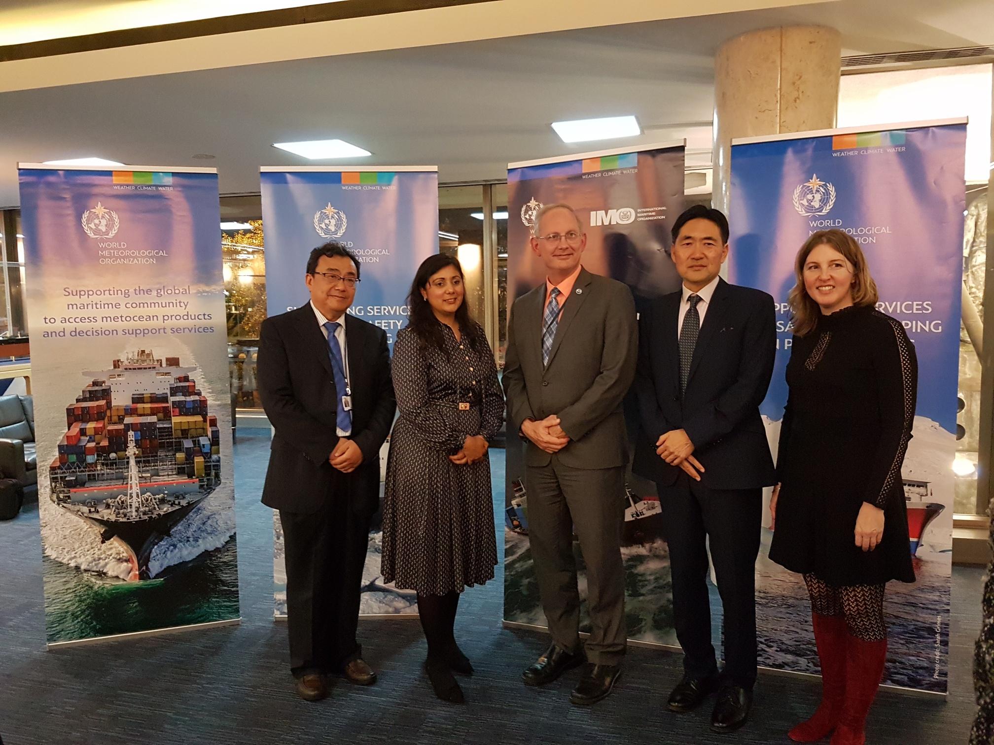 IMO-WMO symposium on extreme maritime weather