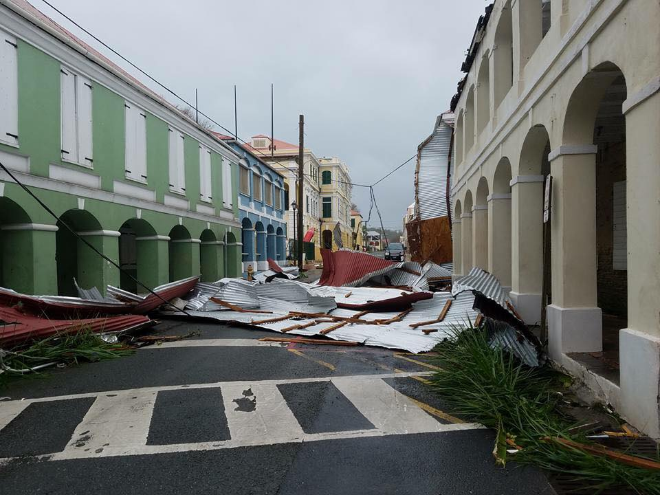 St Croix after impact of Hurricane Maria. Photo Murillo Melo
