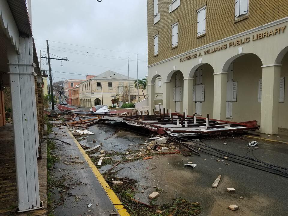St. Croix after impact of Hurricane Maria. Photo Murillo Melo