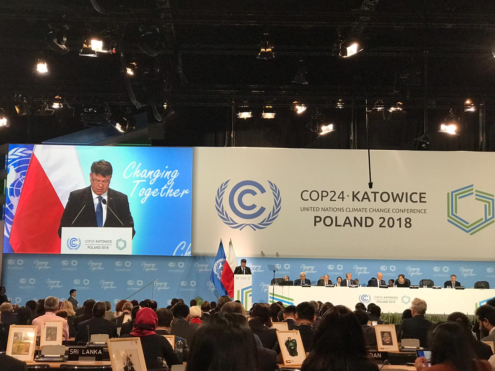 United Nations Climate Change Conference (COP 24, CMP 14 and CMA 1