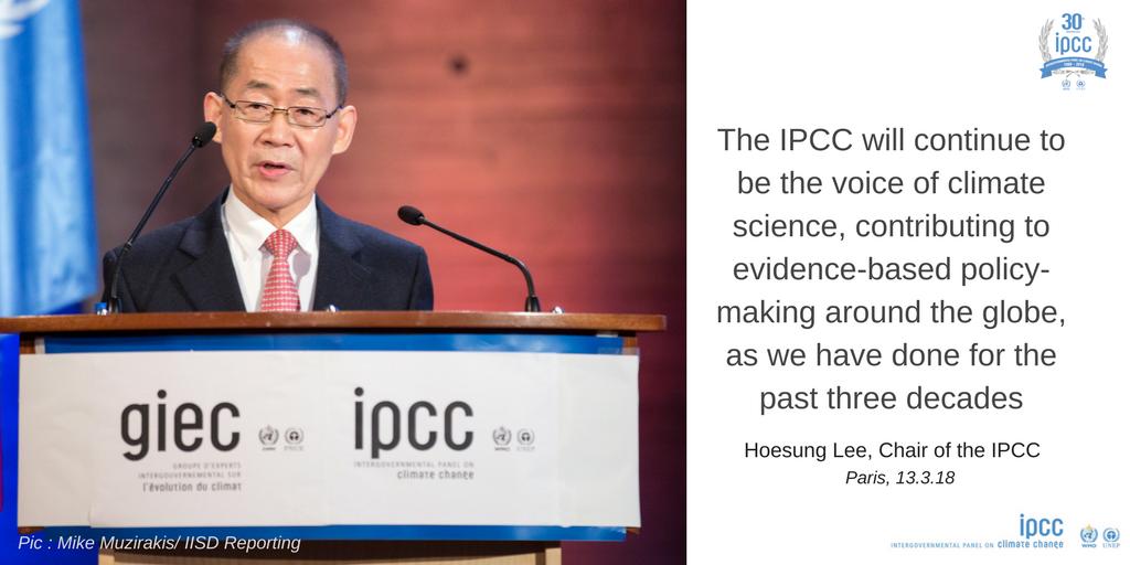 IPCC Chair
