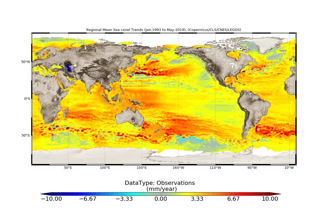 Regional Mean Sea Level Trends 2020