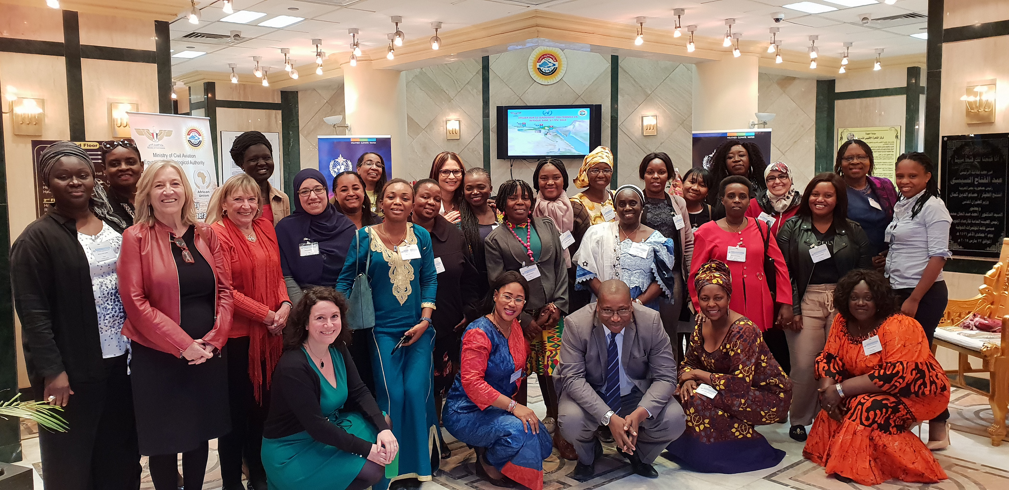 Women's Leadership Workshop at the Regional Association for Africa session in Cairo, Egypt from 16-17 February 2019