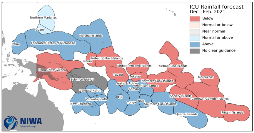 WMO summary of La Niña, Dec 2020