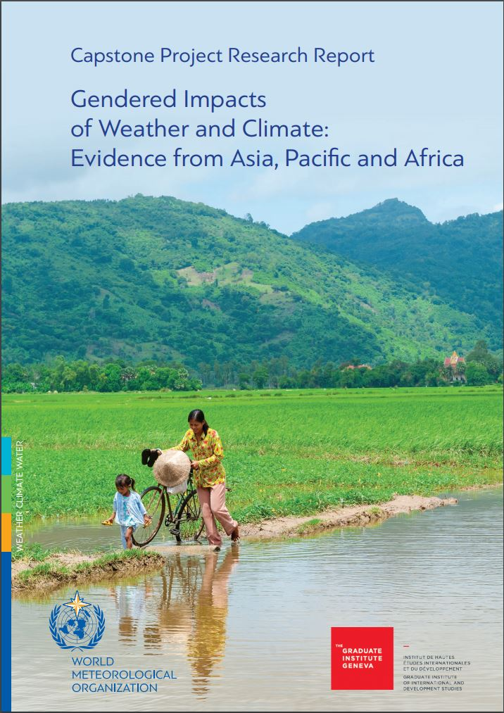 Gendered Impacts of Weather and Climate:Evidence from Asia, Pacific and Africa