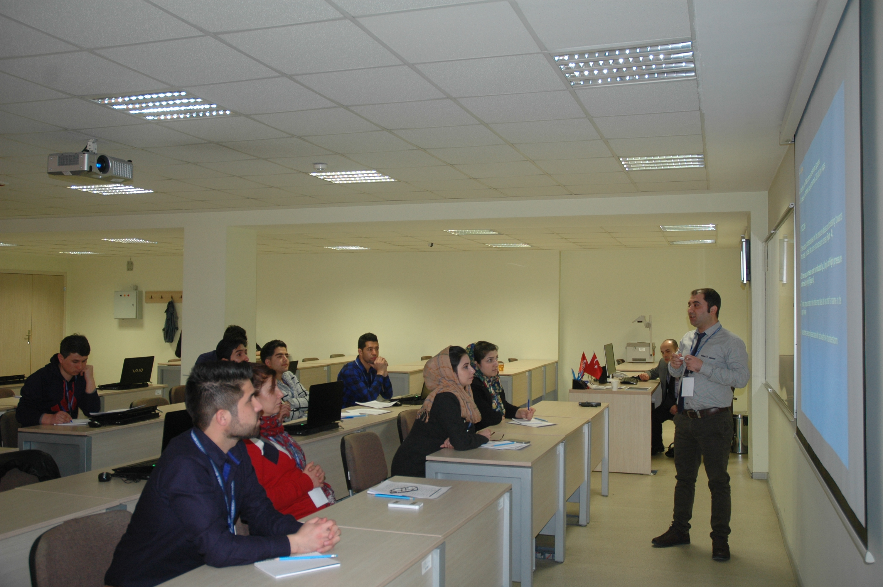 AMD staff receive training at WMO RTC Turkey