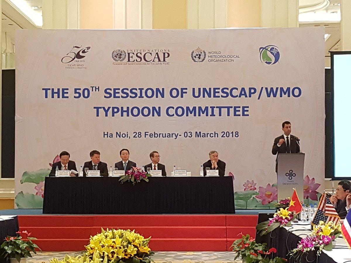 Typhoon Committee marks 50th anniversary
