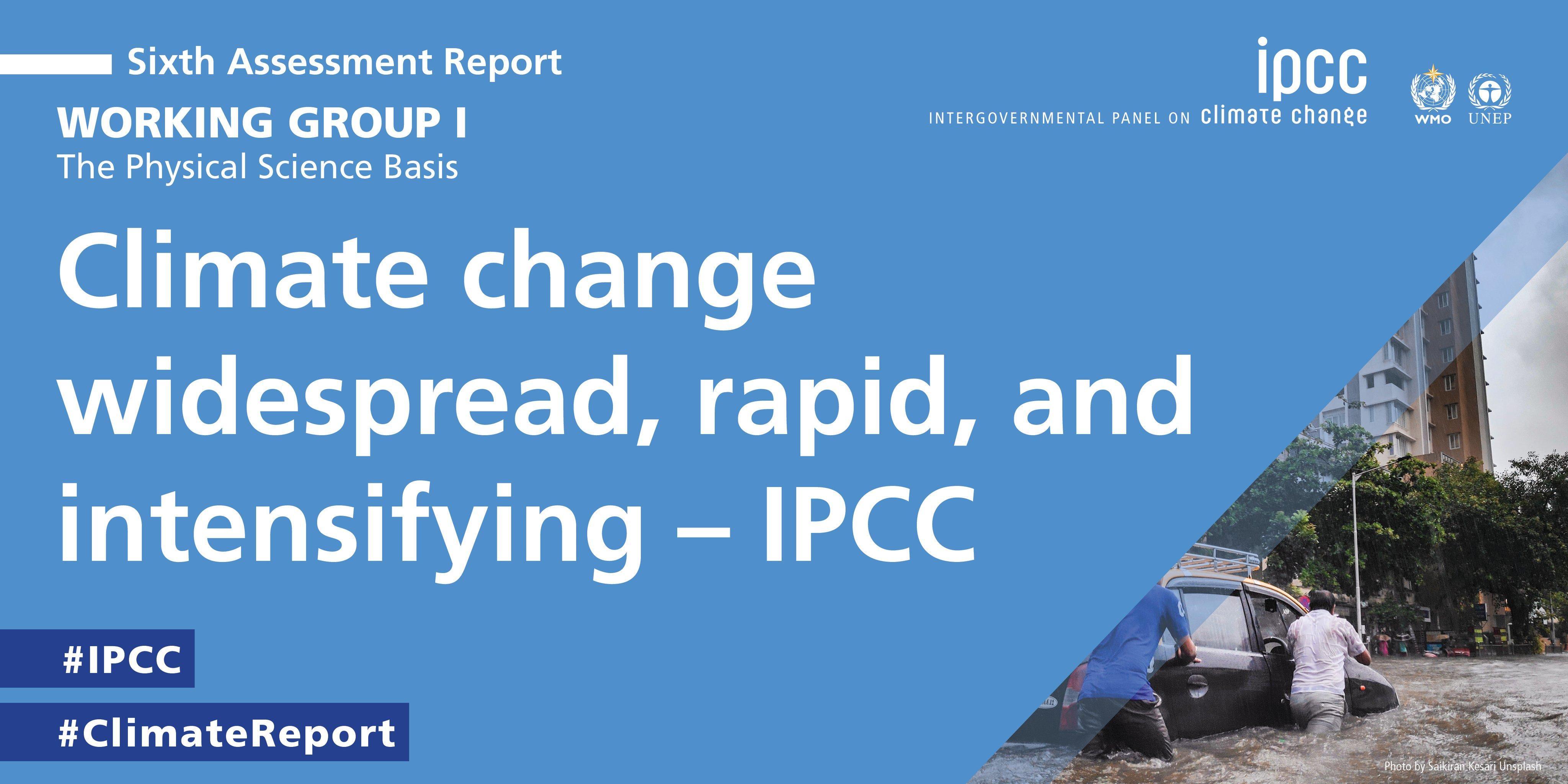 IPCC Working Group I report