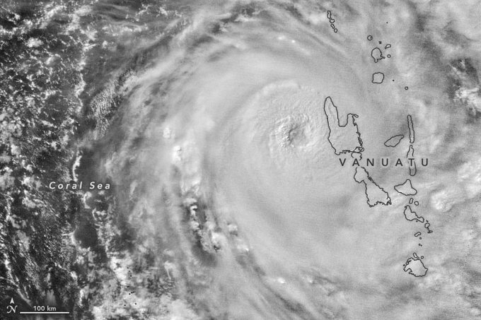 Tropical Cyclone Harold, April 2020
