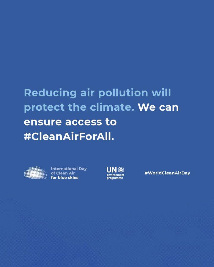World Clean Air Day 2020