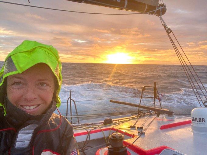 Alexia Barrier, Vendée Globe race skipper