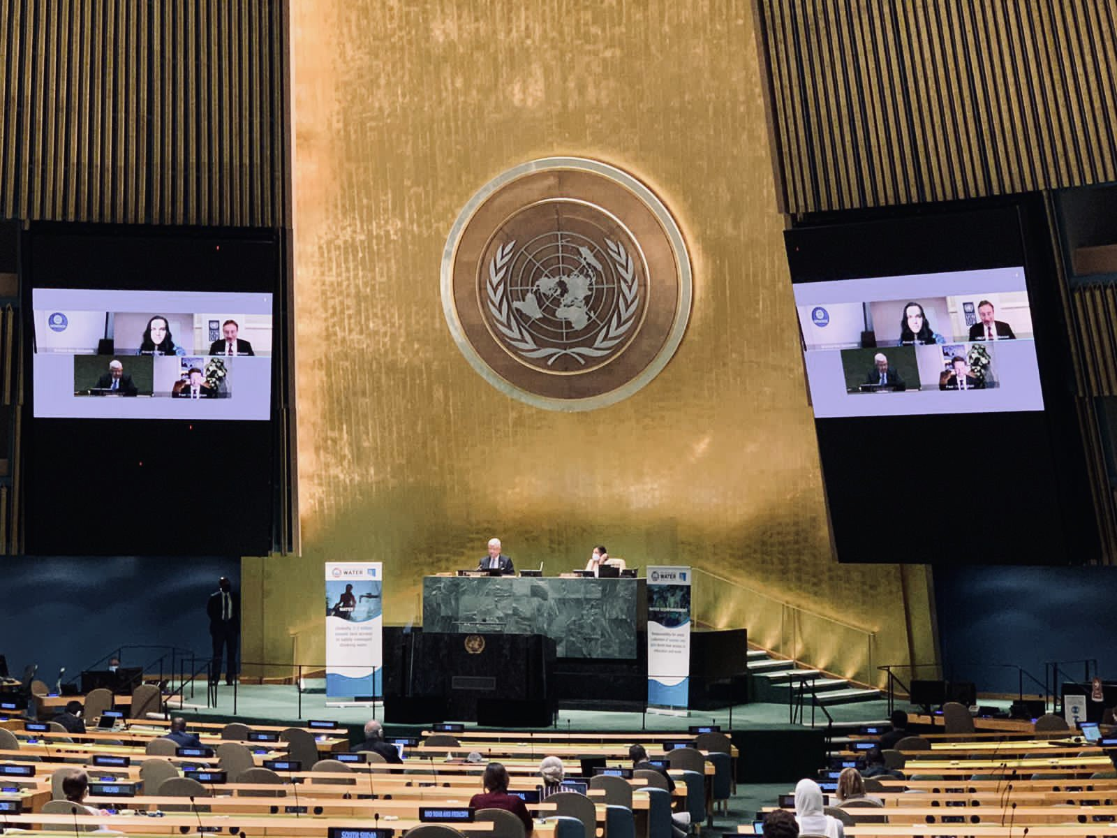 UN General Assembly Water 18.2.2021