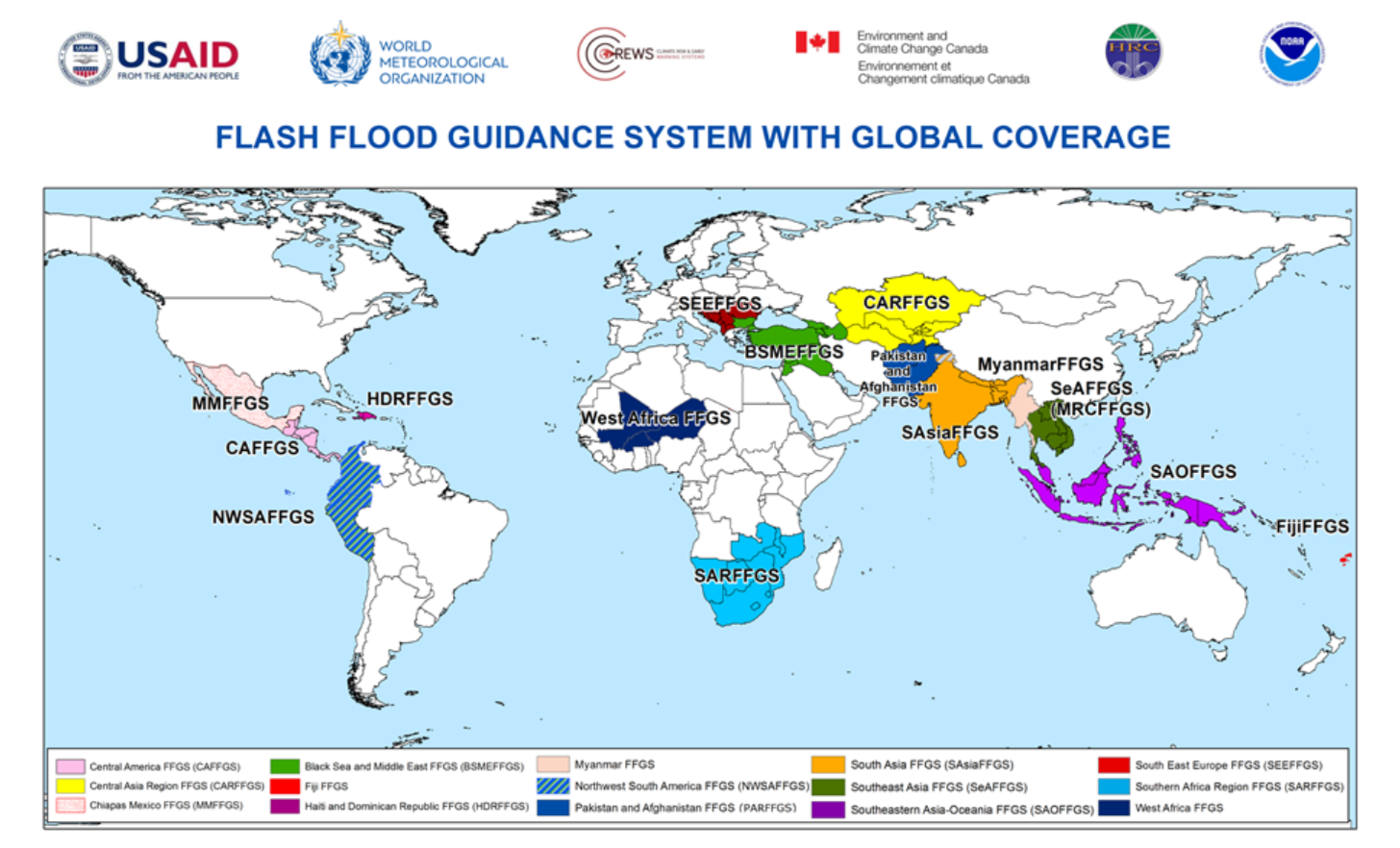 FFGS with Global Coverage