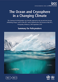 IPCC Special Report on Ocean and Cryosphere