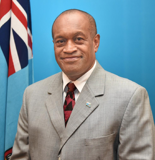Jone Usamate, Fiji's Minister for Infrastructure and Meteorological Services